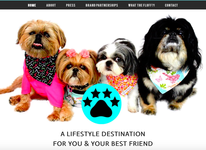 Visit the Fluff Dog Crew Website