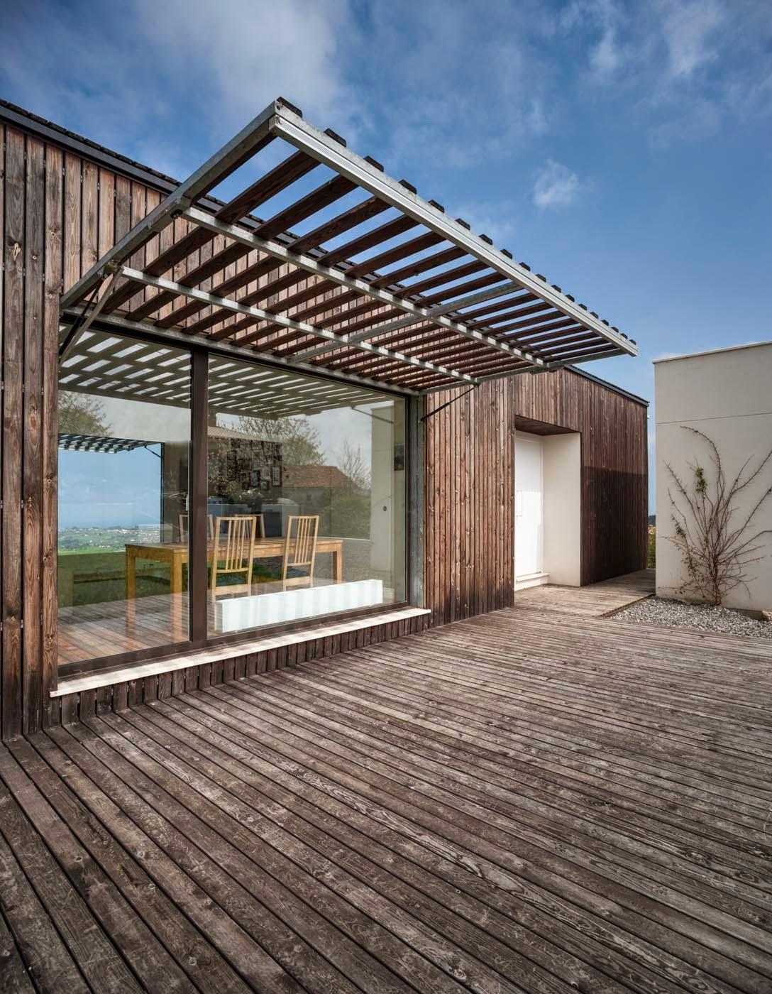 Vivienda bioclim tica en asturias modulo12 arquitectos - Arquitectos asturias ...
