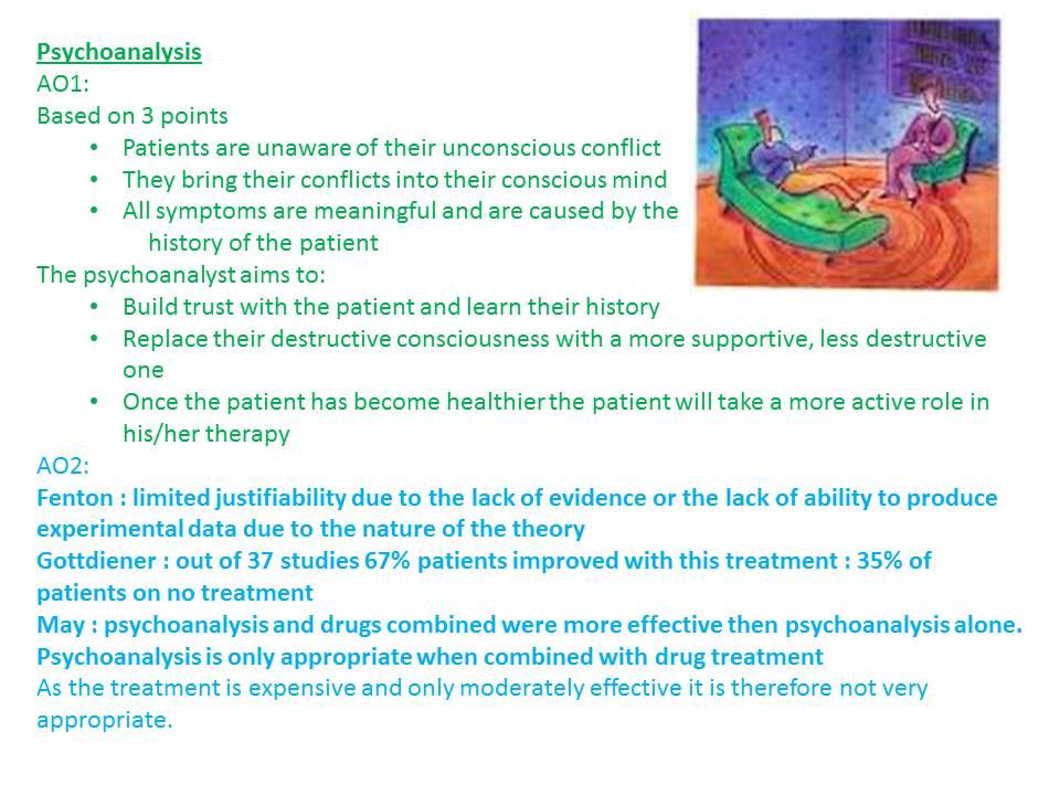 Biological explanations to psychopathology