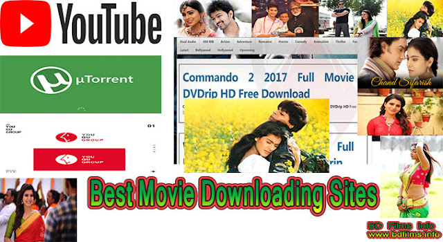 The Best Movie Downloading Sites of the world...  Hello Everyone, Today I will share some important websites or world movie downloading sites here so that you can download the films from the sites. I won't divide the websites as the category of country. But you can get all the websites entirely.    The Best Movie Downloading Sites.  The world movie downloading sites are given below:-   1. YOUTUBE   2. OK.RU   3. ARCHIVE   4. Youqu   5. sovietmoviesonline   6. klikfilm   7. Dailymotion   8. vimeo   9. Netflix   10. Iflix   11. flixtor   12. tubitv   13. icflix   14. popcornflix  15. snagfilms    16. yidio  17. viki  18. wakanim   19. hulu   20. funimation   21. crunchyroll   22. zee5   23. bioscopelive   24. vidio   25. bongflix   26. bongobd   27. StreanLikers   28. 123MoviesHub   29. Potlocker  30. Potlockers.cafe  31. Potlocker.kz  32. FastMovies  33. WatchMoviesFree  34. 123GoStream  35. ExtraTorrent  36. ISOHunts  37. Torrent Downloads   38. 01Torrent  39. Bolly4UHD  40. Kickass Torrents  41. Movie Watcher  42. WatchSoMuch  43. GoMovies  44. Alluc  45. Movies4Free  46. Movies123Watch  47. MoviesCounters  48. Movies Paper  49. Loaded Movies  50. OMovieDownloads  51. Bullmask  52. CineWhale  53. Hiidude HD  54. MoviesCrush   55. PRMovies  56. Mega BoxOffice  57. Currently In Theaters   58. Moviehous.com  59. Gold Movies   60. HD Movie Links  61. Latest Movie.info  62. Best HD Movies  63. Entertainment World   64. Love U Movies  65. Jio Video  66. Worldfree4u Pro   67. 2Hiidude   68. Gan DoWorld   69. Movies Coach  70. VKMovies  71. Ganool 123  72. FreelyFilmy   73. Filmy World4U  74. Go Movies  75. BHTMovies4U  76. MyDownloadTube  77. Bob Movies  78. CosmoTube  79. FMovies  80. Movie No Limit  81. MovieDDL  82. Watch Movies Free  83. Mobile Movies  84. DIVX Crawler  85. 123 Go Stream  86. EMOL Movies  87. DownLoad Any Movies  88.  IPagal Movies  89. WellTorrent Movies Torrents  90. Critic Bay  91. Filmade  92. House Movies   93. Fully Watch Online  94. XMovies 8  95. MKV Cage  96. AVI Mobile Movies  97. CineBloom  98. C Movies HD  99. My Cool Movies  100. HD Movies Maza  101. TOR HD  102. CineWap  103. X Filmy Wap Movies  104. FZ Movies  105. Novie Cast Blog  106. Isai Dub  107. Movies Daily  108. Public Domain Torrents  109. Filmy Wap Free Movies  110. FZ Movies  111. RDX HD  112. 123 Movies Hub  113. Couch Pota Movies Download  114. Vidmate  115. See HD Movies  116.  HD Movies Point  117. 027 PPT  118. Go Download Movies  119. Fou Movies  120. HD Popcorns  121. Casper Movies  122. 300 MB Movies  123. SD Movies Point  124. Newhdmovi.com  125.            Torrents Sites 1. 1337x   2. zooqle  3. YTS   4. Pirate Bay   5. RuTracker  6. RARBG   7. Cine Calidad  8. Torrentz2  9. Nyaa  10. Sukebei Nyaa  11. HorribleSubs  12. zooqle  13. All Magnet to BT   14. TamilMV.bid       Best Private Torrent Trackers  1. Lostfilm   2. IPTorrents  3. Kinozal  4. Zamunda   5. NCore  6.  Filelist  7. TorrentDay  8. M-Team TP  9. ToTheGlory  10. Riper  11. CGPeers  12. TNTVillage  13. Partis  14. TorrentLeech  15. FileBase  16. HDHome  17. AvistaZ  18. Manicomio-Share  19. TFile  20. JPopSuki  21. Metal Tracker  22. TorrentsMD  23. BroastcastThe  24. DanishBits  25. GFXPeers  26. Zelka  27. Redacted  28. AltTorrent   29. PassThePopcorn  30. MyAnonaMouse