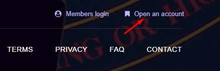 Регистрация в PokerDAPP 1