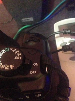 Power pada kamera dalam posisi ON