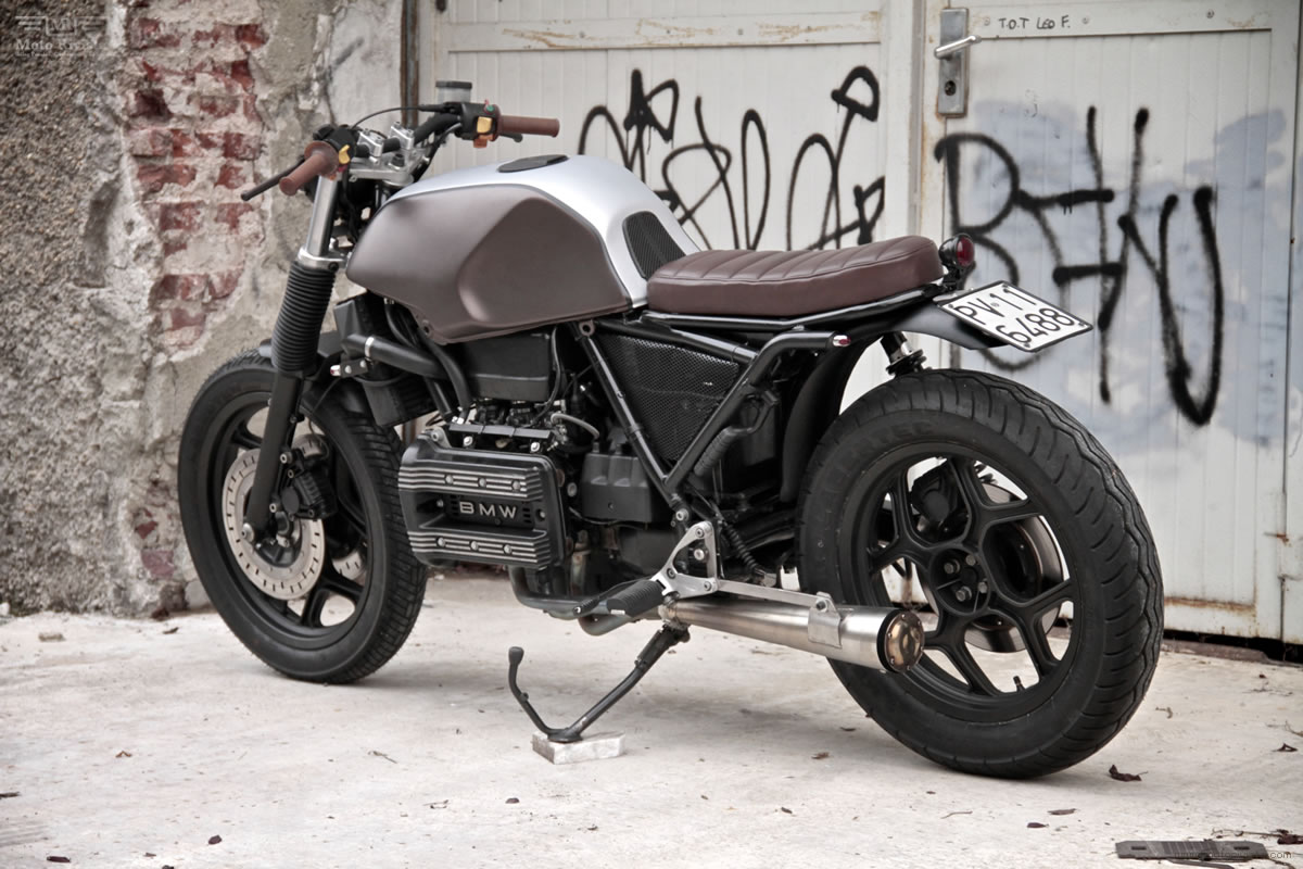 vintage racers custom bmw k75 by moto sumisura. Black Bedroom Furniture Sets. Home Design Ideas