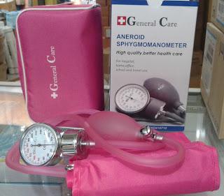 yang paling banyak dipakai dibandingkan dengan banyak sekali tensi meter merk lainnya Harga Sphygmomanometer / Tensi Aneroid General Care: alat pengukur tekanan darah