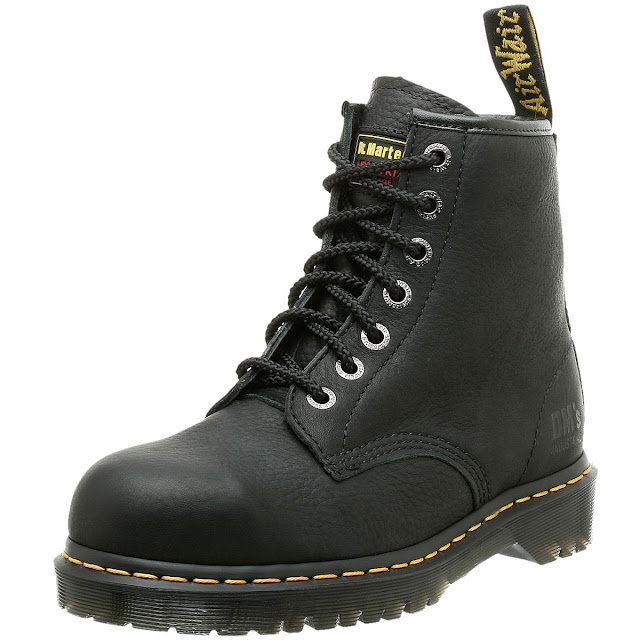 E7buy 超值好鞋: 【 517E7buy感恩限時超值好鞋 】馬丁大夫 New ICON 七孔靴 黑色款【好友塗鴉價不用3800