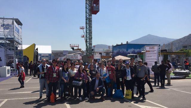 Alumnos de Santo Tomás participaron en ExpoEdifica