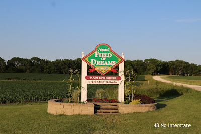 48 No Interstate: How to Create a Road Trip Itinerary - Roadside Attractions: Field of Dreams film site in Dyersville, Iowa