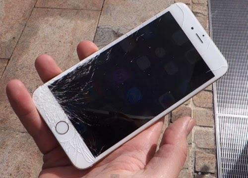 Iphone 6s bị vỡ mặt kính