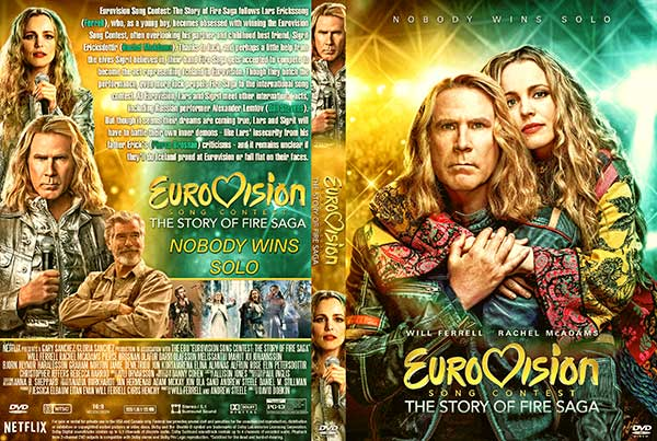 Eurovision Song Contest: The Story of Fire Saga (2020) DVD Cover