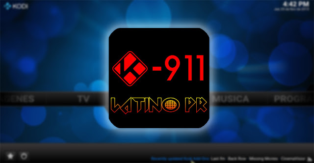 "Como instalar o Add-On ""Kodi 911"" no Kodi - Filmes e TV USA-Latino"