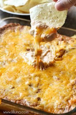 Cream Cheese Edible Bean Dip Recipe