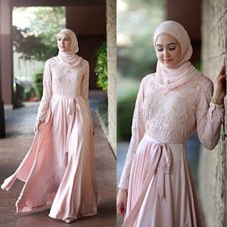 Baju Muslim Brokat Buat Pesta Agar Bisa Tampil Modern
