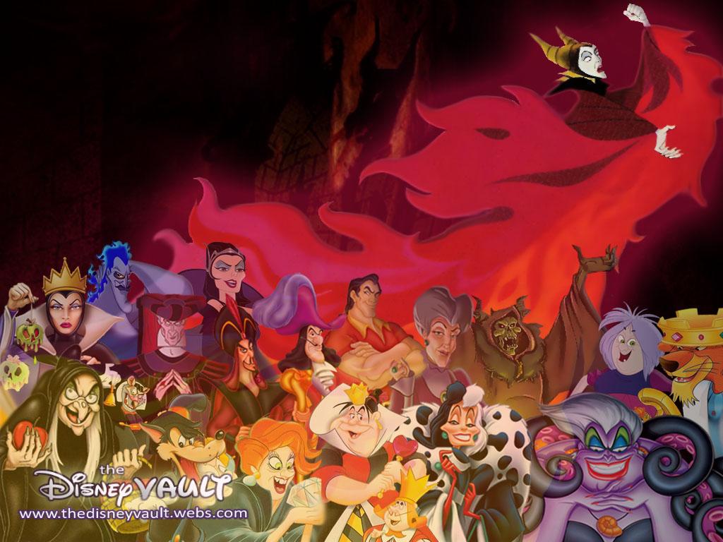 Disney Project Disney Villain Wallpaper Page 3
