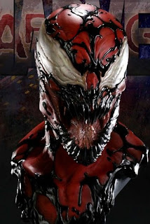 1:1 Scale Carnage Bust by Sideshow Toys | IAMFATTERTHANYOU.COM  |Carnage Bust