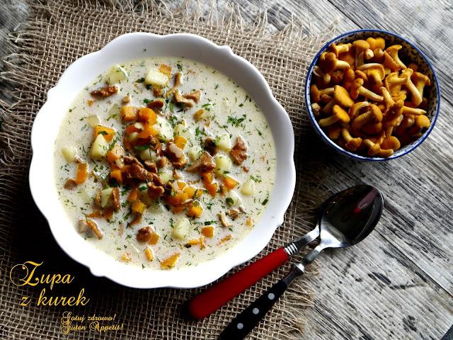 Zupa z kurek - Czytaj więcej »