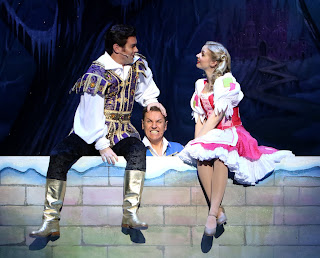 A scene during Cinderella, the Milton Keynes Panto Production 2017
