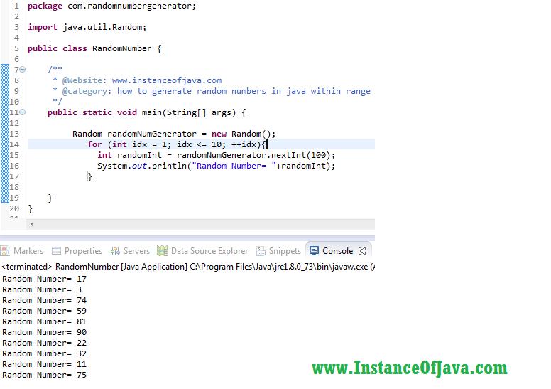 random long number generator in java