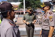 Kapolres Bersama Dandim Jakarta Barat Kompak Pengamanan Kunker Presiden Jokowi Di Stasiun Duri Tambora