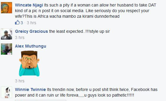 Kenyan evangelist couple blasted for posting this pic on Facebook