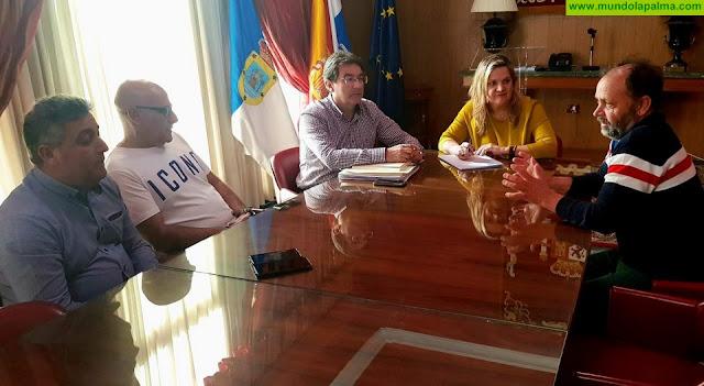 El Cabildo, el Estado y el Ayuntamiento de Garafía abordan la problemática de los ataques de perros que sufre el ganado ovino