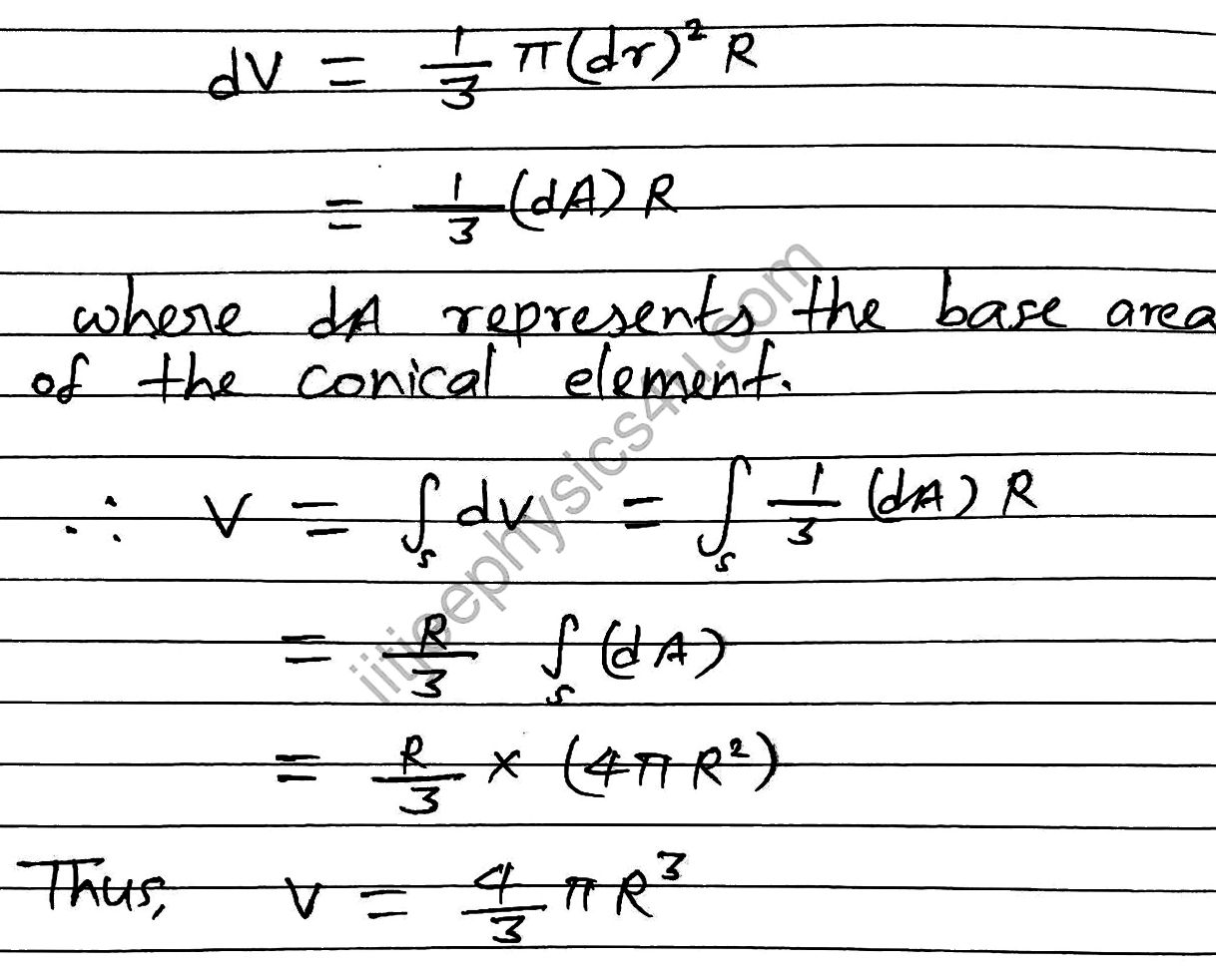 Derivation Of Volume Of Sphere