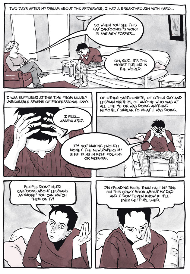 Page 32, Chapter 2: Transitional Objects from Alison Bechdel's graphic novel Are You My Mother