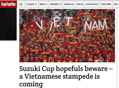 Báo Singapore e ngại sức mạnh ĐT Việt Nam ở AFF Cup 2016
