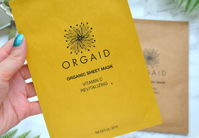 ORGAID Organic Sheet Mask Review