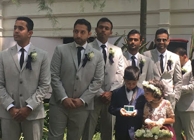 Irfan Pathan the best man in Robin Uthappa wedding