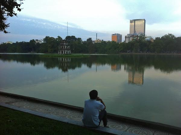 Lago Hoan Kiem de Hanoi