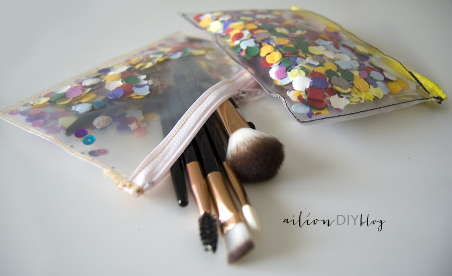 confetti diy bag