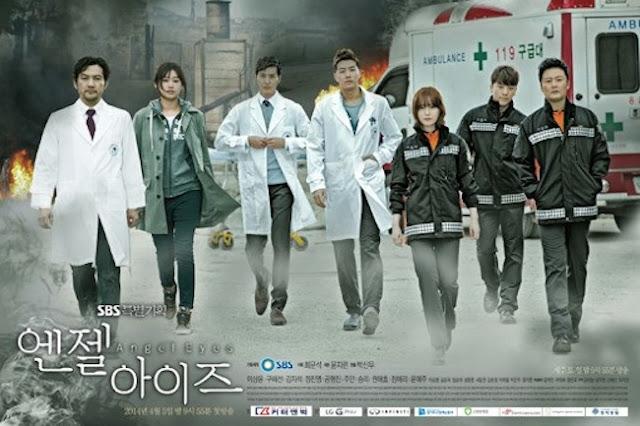 hantu baca Drama Korea Terbaik Terbaru ANGEL EYES (2014)