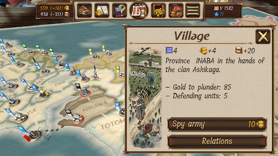 Shogun's Empire: Hex Commander 1.2 Mod Apk (Unlimited Gold, Rice, Honors) - ReddSoft