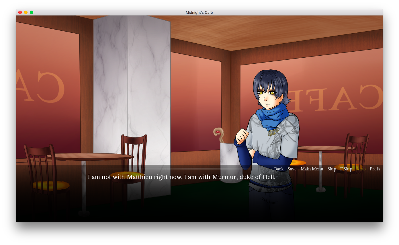 otometwist visual novel review midnight's cafe