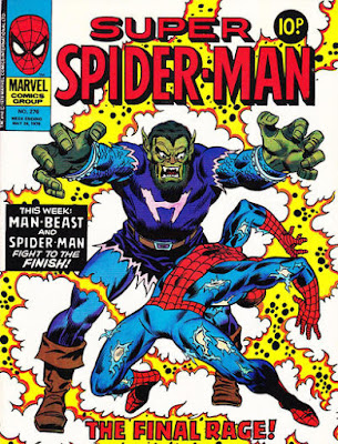 Super Spider-Man #276, the Man-Beast