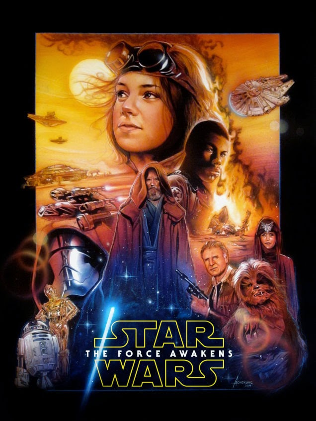 the force awakens drew struzan