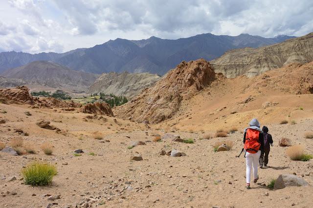 Randonnée dans la vallée Sham