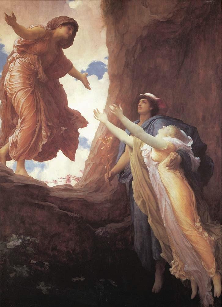 Retorno de Perséfone - Lord Frederick, o mais famoso artista britânico do século XlX