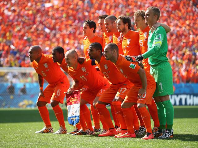 Formación de Países Bajos ante Chile, Copa del Mundo Brasil 2014, 23 de junio