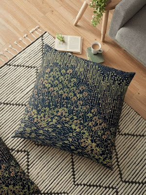 Tranformed into cushion sale in Redbubble