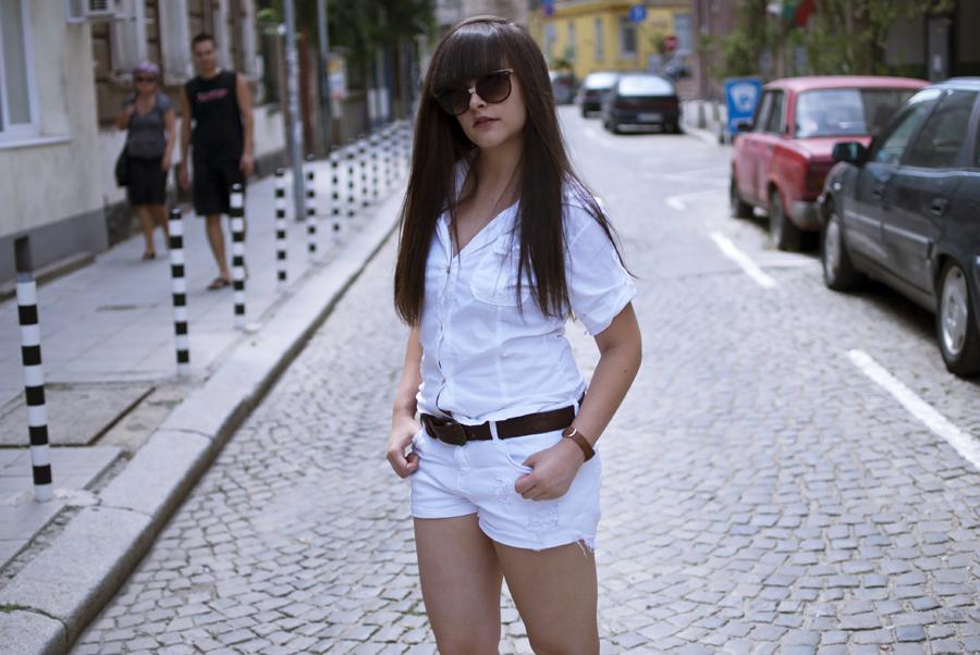 White chick