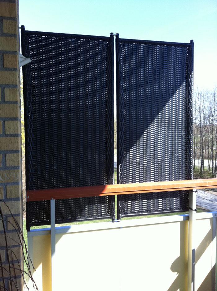 Omtalade Insynsskydd balkong ikea PK-78