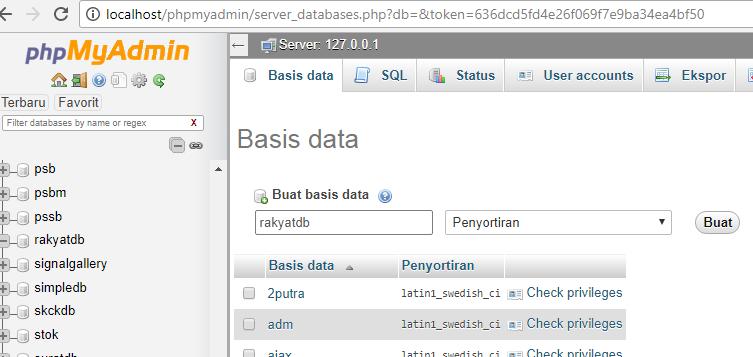 Temukan Cara Membuat Database Phpmyadmin Terbaru