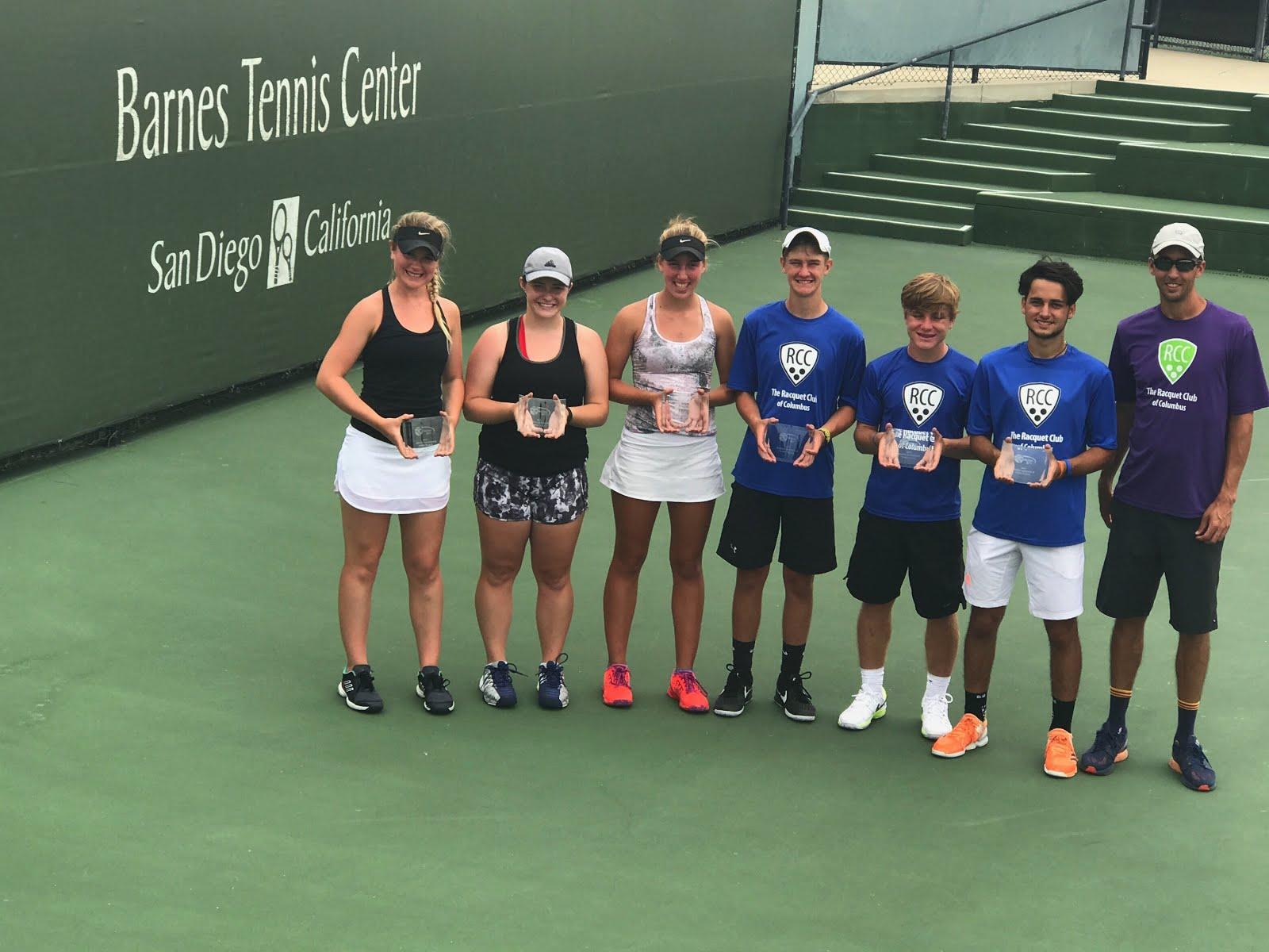 Tennisjuniorer i vm semifinal
