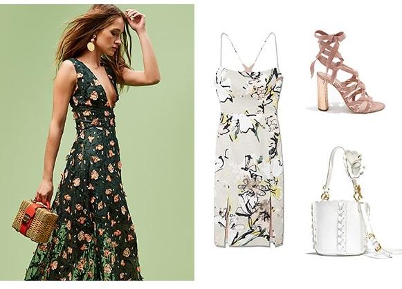 Summer Garden Wedding Fashions
