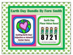 Earth Day Bundled Centers For Common Core By Fern Smith