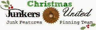 Chipping with Charm: Christmas Junkers United Logo...http://www.chippingwithcharm.blogspot.com/