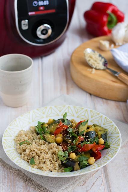 Couscous de légumes et quinoa au Cookéo