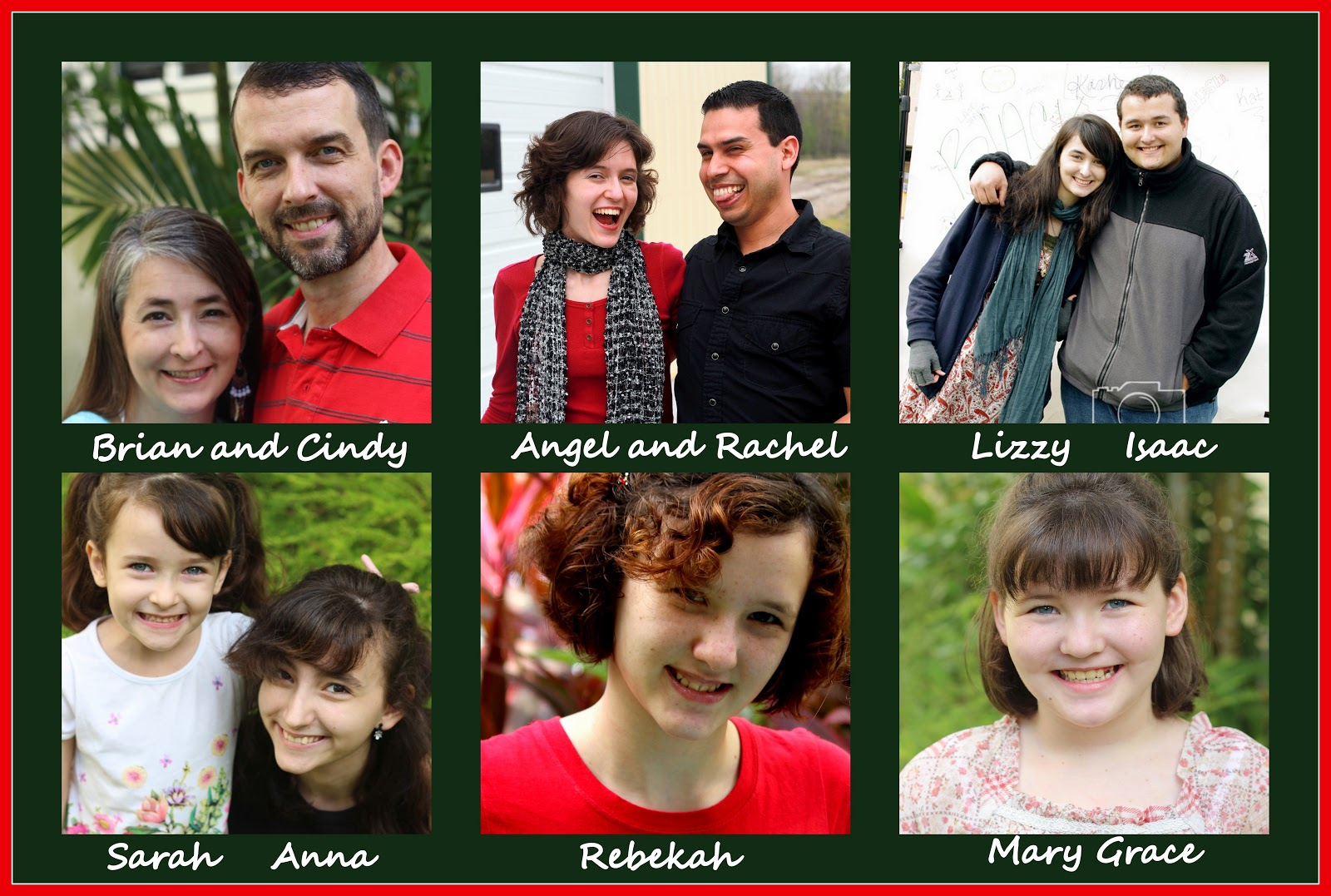Brady Bunch Christmas Card.The Random Writings Of Rachel Handmade Christmas Cards