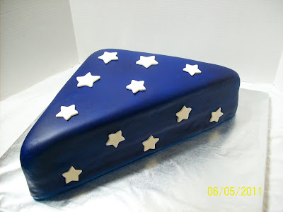 Cakes By Chris Folded Flag Cake